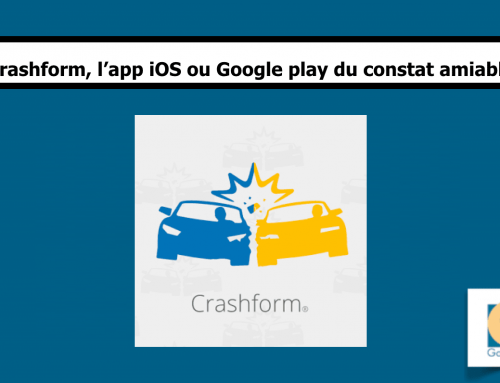 Crashform, le constat amiable d'accident sous forme d'application smartphone