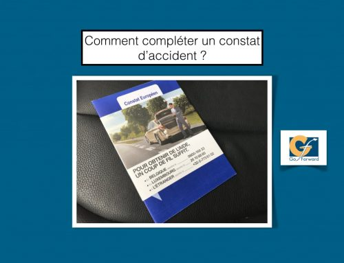 Comment remplir un constat européen d'accident en cas d'accident de la circulation ?