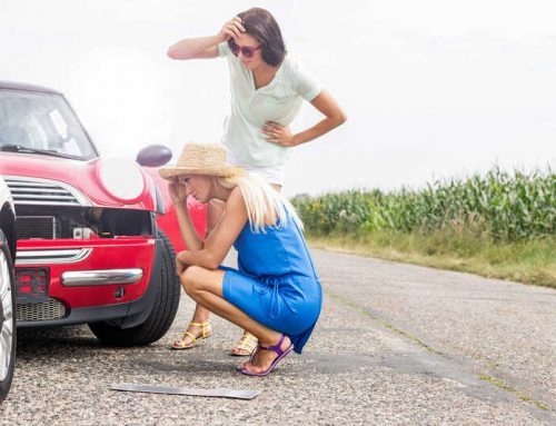 Les causes des sinistres auto les plus courantes