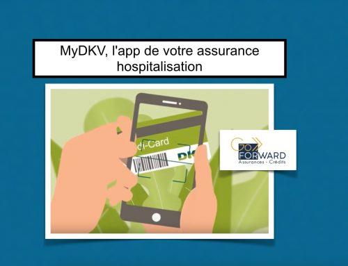 MyDKV, l'app de votre assurance hospitalisation
